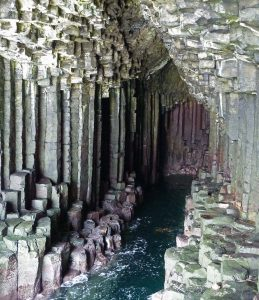 Inside Fingal's Cave